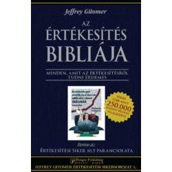 Jeffrey Gitomer: Az értékesítés bibliája